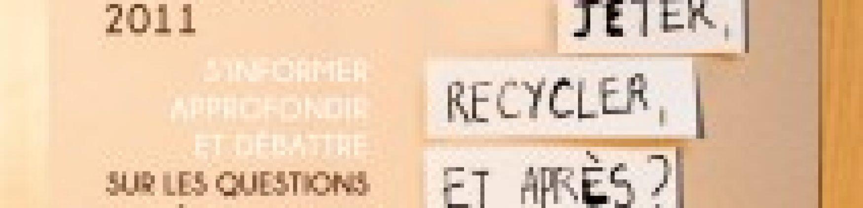 Forum – Trop de déchets !